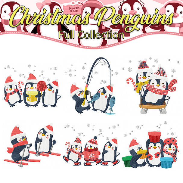 Christmas Penguins Full Collection