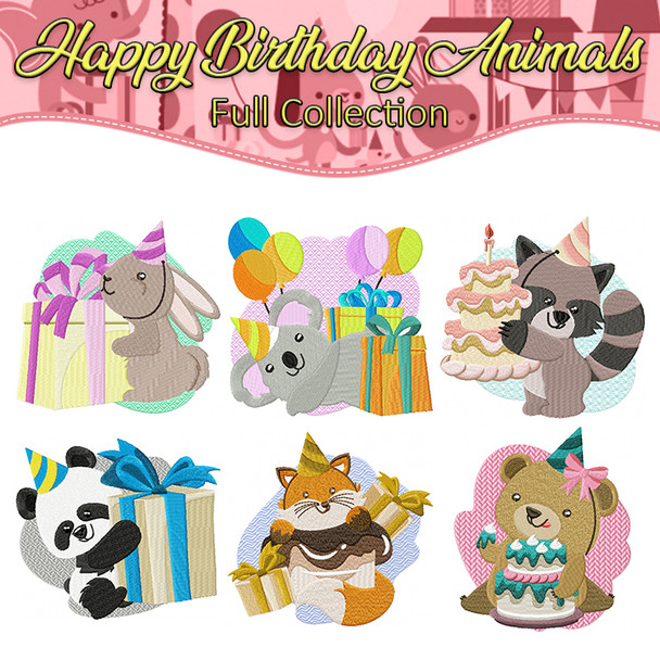 Happy Birthday Animals Full Collection