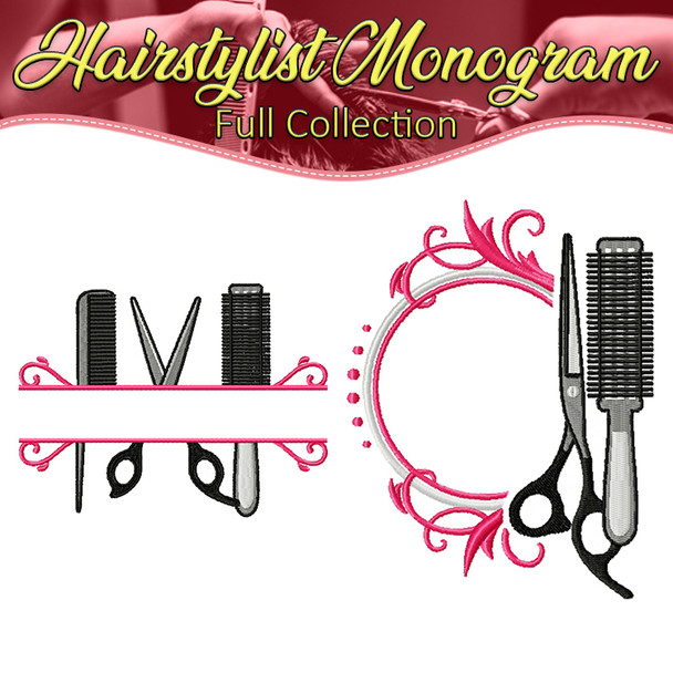 Hairstylist Monogram Full Collection