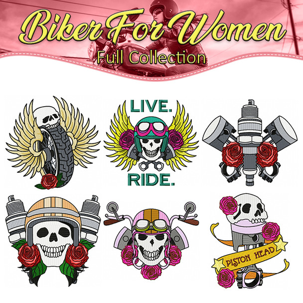 Biker For Women Full Collection