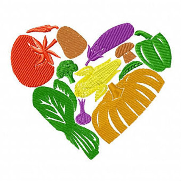 Fruit and Veg - Shopping Tote Collection #2 Machine Embroidery Design