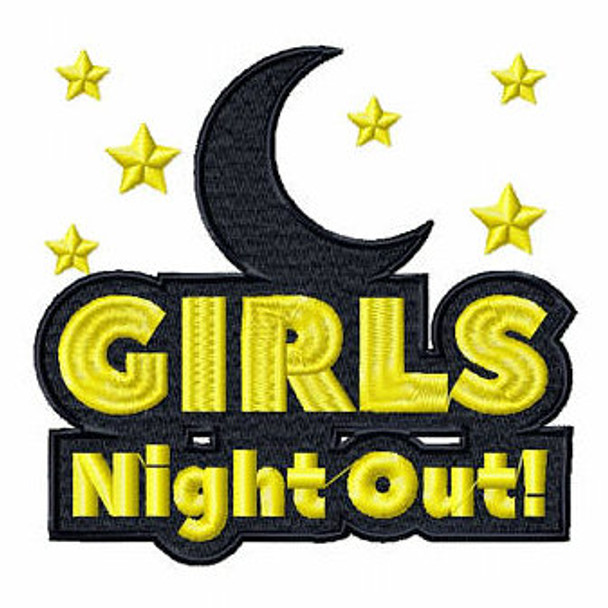 Late Night Clubbing - Girls Night Collection #02 Machine Embroidery Design