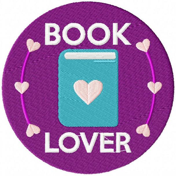 Love Book - Book Lover #01 Machine Embroidery Design