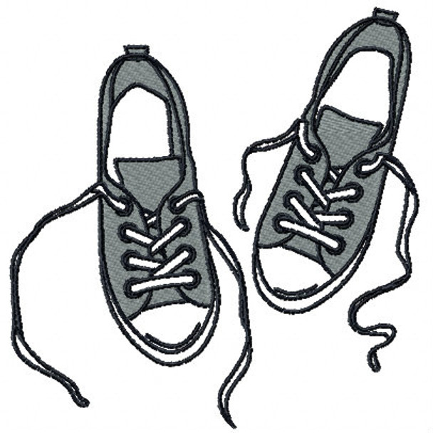 Sneakers - Shoe Collection #01 Machine Embroidery Design