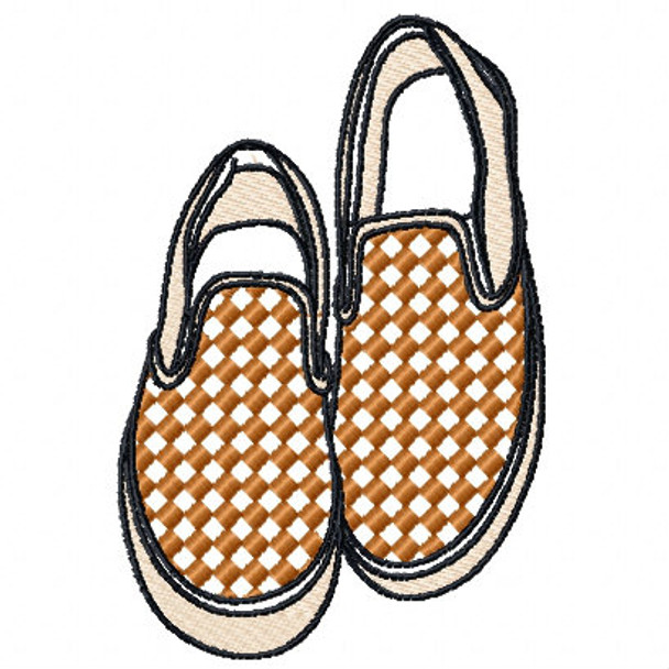 Slip-on - Shoe Collection #10 Machine Embroidery Design