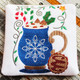 Christmas Hot Drinks Collection of 6 Machine Embroidery Designs