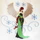 Christmas Angel Collection of 8 Machine Embroidery Designs