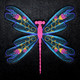 Machine Embroidery Designs - Dragonfly Collection of 6
