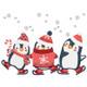 Christmas Penguins #05