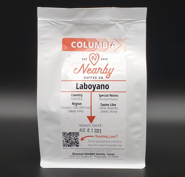 colombia laboyano coffees, colombia coffee, washed process colombia, local roaster ethiopia, light roast, colombia coffee,  Colombia