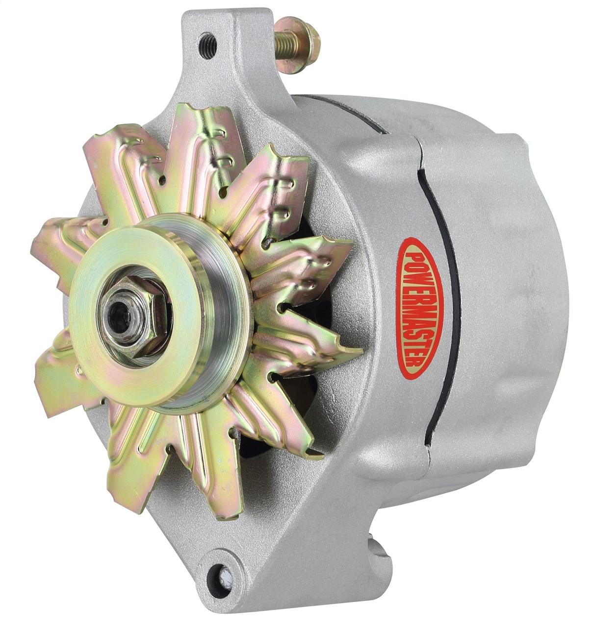 powermaster ford 1 wire 100 amp upgrade alternator, plain  ford powermaster alternators wiring #13