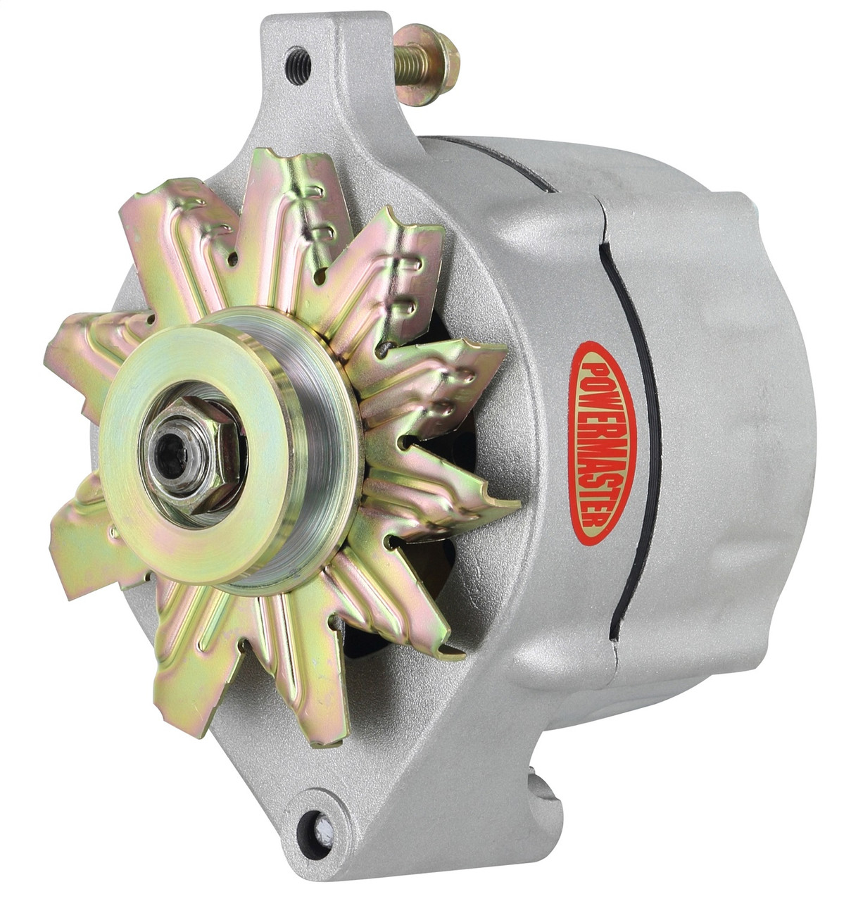 powermaster ford 1-wire 100 amp upgrade alternator, plain - so-cal speed  shop az