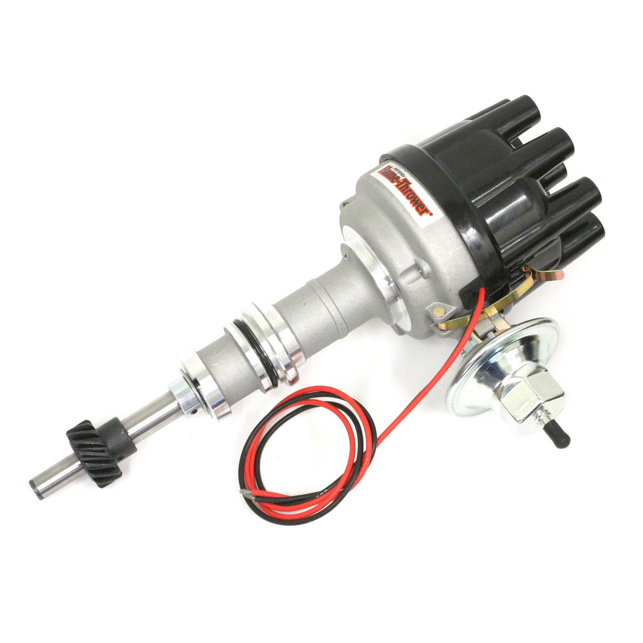 Pertronix Flame-Thrower Electronic Distributor Cast Ford Small Block w/ Ignitor Technology
