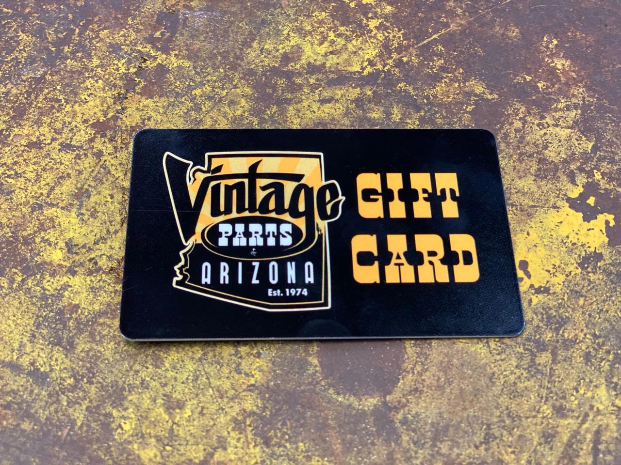 Vintage Parts of Arizona Gift Card