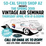 2019 Vintage Air A/C Seminar at SO-CAL Speed Shop AZ
