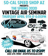 2020 Vintage Air A/C Seminar at SO-CAL Speed Shop AZ