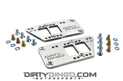 Dirty Dingo Double-D LS Adapter Plates, Steel