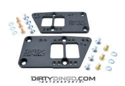 Dirty Dingo Double-D LS Adapter Plates, Black