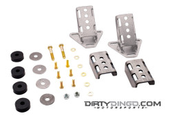 Dirty Dingo GM 3 Bolt Street Rod Engine Mounts, Steel (DDI-DD-SR-GM-CM)