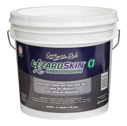 Lizard Skin 1 Gallon Ceramic Insulation, Black
