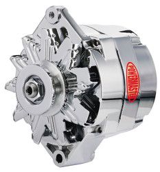 Powermaster GM 1-Wire 100 Amp Alternator, Chrome
