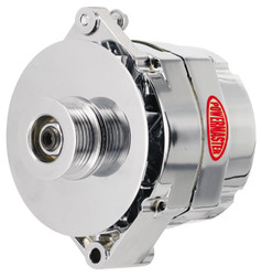 Powermaster GM 1-Wire 150 Amp Alternator, Chrome