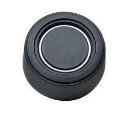 GT Performance GT3 Hi-Rise Plain Horn Button, Black Anodized