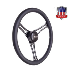 GT Performance GT3 Pro-Touring Autocross Wheel, Black Leather