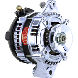 Powermaster GM 1-Wire 175 Amp Alternator, Chrome