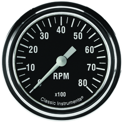 Classic Instruments Hot Rod Series Tachometer 2-5/8""