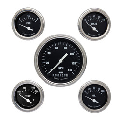 Classic Instruments Hot Rod Series 5 Gauges Set