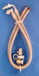Braided Hose Kit 1980 & Later GM Gearbox or Rack & Pinion to GM Pump