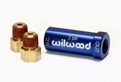 Wilwood 2LB (Disc Brake) Residual Pressure Valve