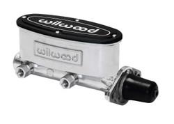 "Wilwood 1"" Aluminum Tandem Master Cylinder, Ball Burnished"