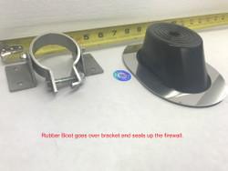 Steering Column Rubber Boot w/ Bracket