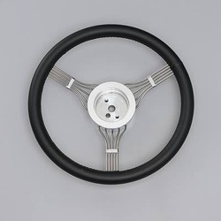 Lecarra Newstalgic Banjo Steering Wheel, Black