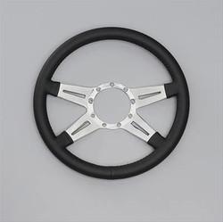 Lecarra Mark Elegante Steering Wheel, Black