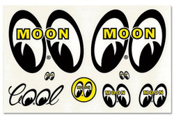 Mooneyes Original Assorted Decal Sheet
