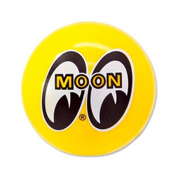 Mooneyes Eyeball Logo Antenna Ball, Yellow