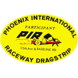 Mooneyes Phoenix International Raceway Dragstrip Decal