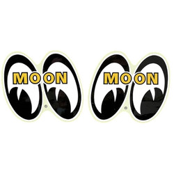 Mooneyes Large Pair of Eyeball Logo Decals