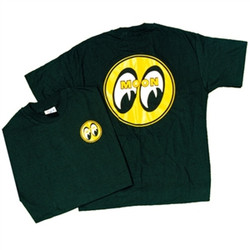 Mooneyes Yellow Moon Logo T-shirt, Black