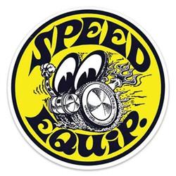 Mooneyes Speed Equip. Round Decal