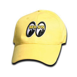 Mooneyes Logo Hat, Yellow