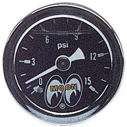 Mooneyes Pressure Gauge 0-15 LBS