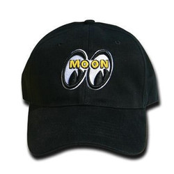 Mooneyes Logo Hat, Black
