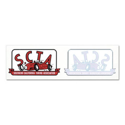 Mooneyes Large S.C.T.A. Decal Set
