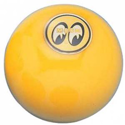 Mooneyes Unniversal Yellow with Yellow Moon Small Shift Knob
