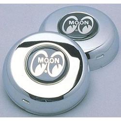 Mooneyes Horn Cap w/ Moon Logo