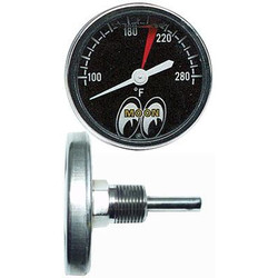 Mooneyes Large Water Temperature Gauge Liquid Filled